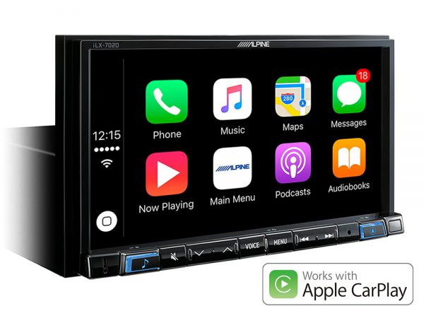 Apple CarPlay Alpine iLX-702D