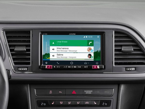 Apline iLX-702LEON Android Auto et Apple CarPlay