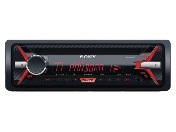 autoradio sony cdx-g3100up 55watts