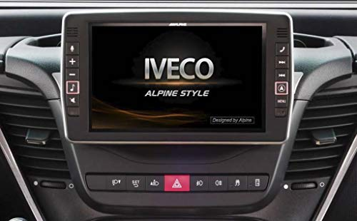 X902D-ID Systeme navigation 9p Apple Carplay Android auto Iveco Daily